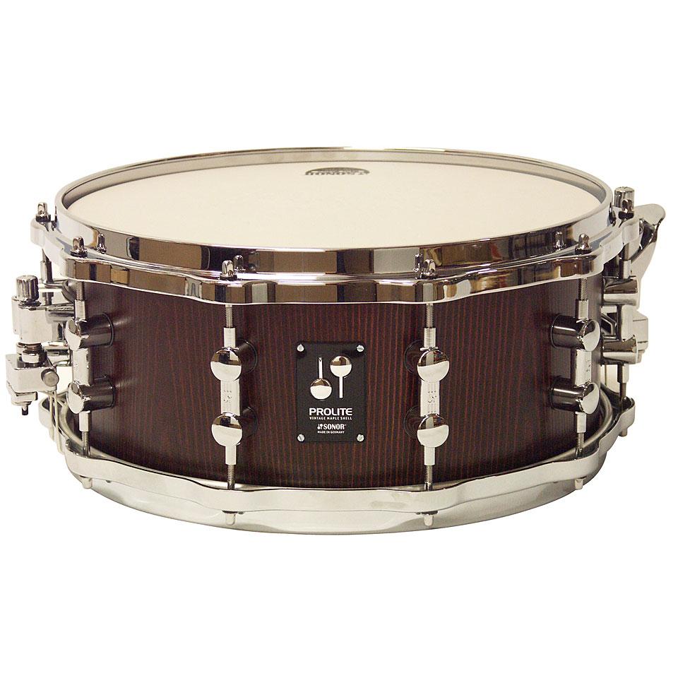 Snaredrum - Sonor ProLite 14 x 6 Nussbaum Snare with Die Cast Hoops Snare Drum - Onlineshop Musik Produktiv