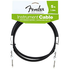 Fender Performance Black 1,5 m « Instrumentenkabel