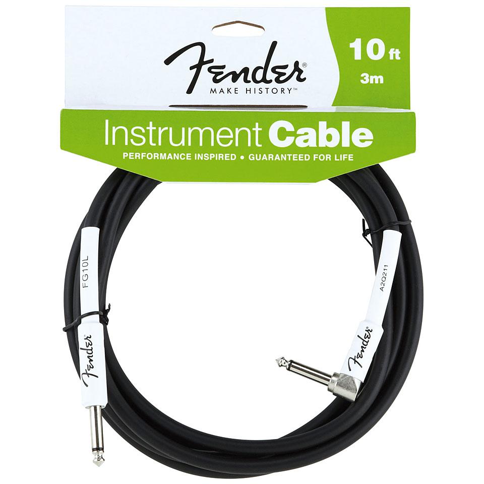 Fender Performance Black 3 M Angled 171 Instrumentenkabel