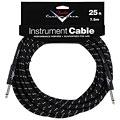 Câble pour instrument Fender Custom Shop Performance Black Tweed 7,5 m