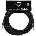 Kable instrumentowe Fender Custom Shop Performance Black Tweed 7,5 m