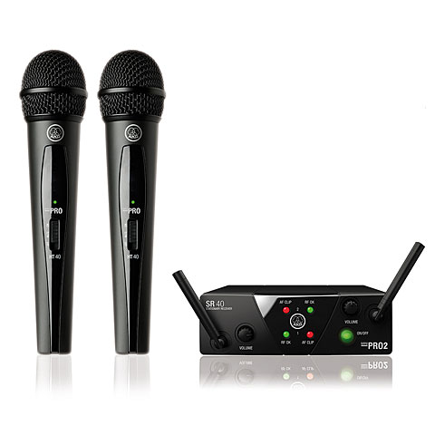 Microfoonset AKG WMS 40 Mini-Dual-Vocal-ISM