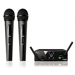 AKG WMS 40 Mini-Dual-Vocal-ISM « Microfoonset