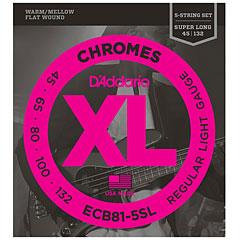 D'Addario ECB81-5SL Chromes .045-132 « Saiten E-Bass