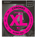 Χορδές ηλεκτρικού μπάσου D'Addario ECB81-5SL Chromes .045-132