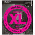 Set di corde per basso elettrico D'Addario ECB81-5SL Chromes .045-132