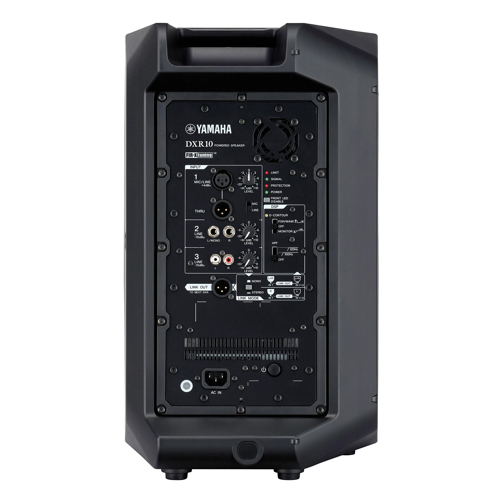 Yamaha Dxr Amp