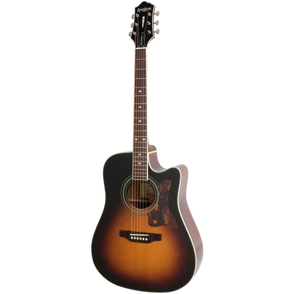 Epiphone Dr 500mce Vs 171 Acoustic Guitar