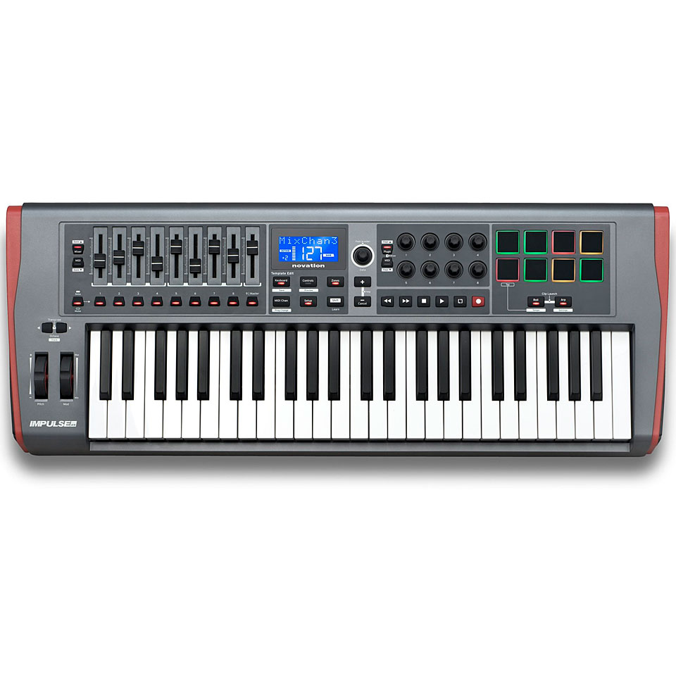 Midimasterkeyboards - Novation Impulse 49 Masterkeyboard - Onlineshop Musik Produktiv