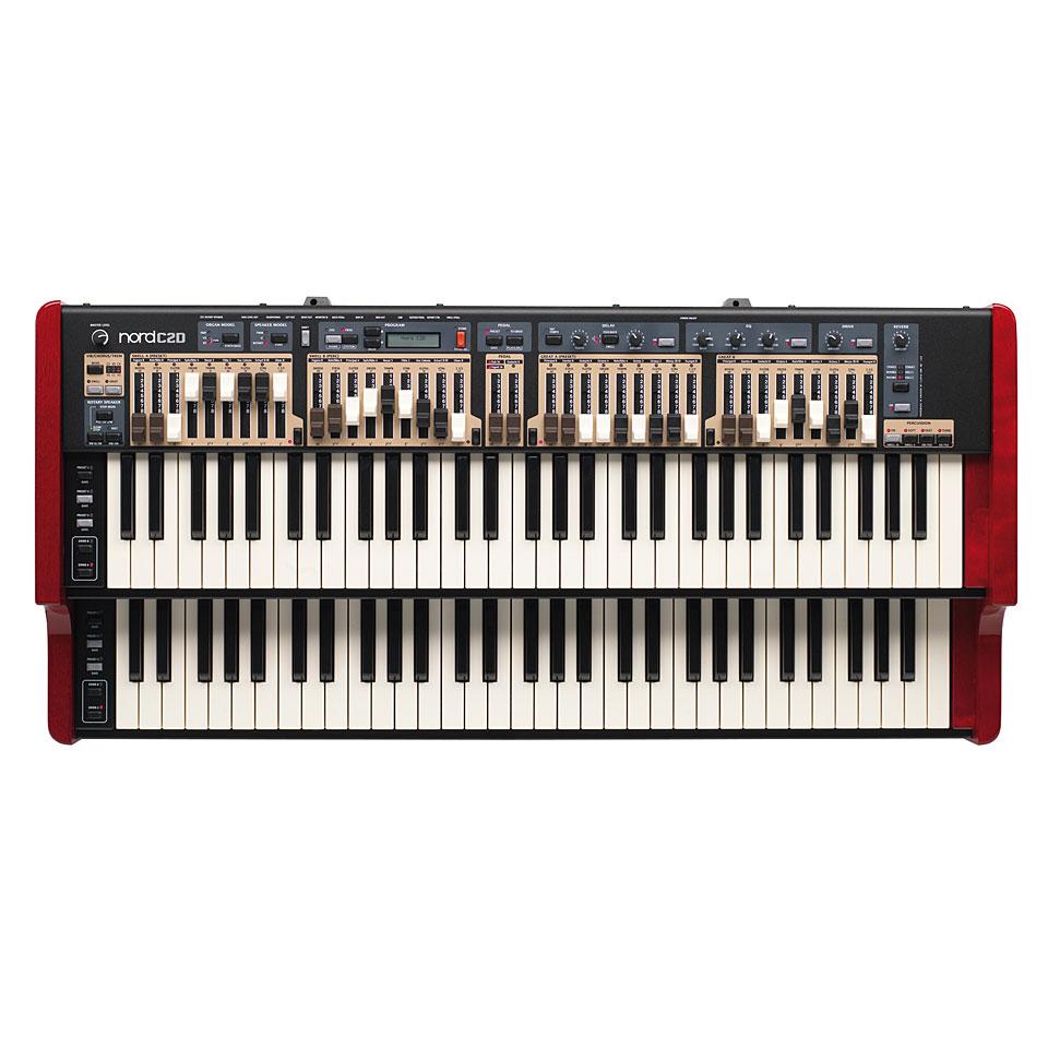 Elektronischeorgeln - Clavia Nord C2D Orgel - Onlineshop Musik Produktiv