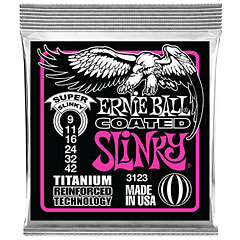 Ernie Ball Super Slinky Coated 3123 .009-042 « Electric Guitar Strings