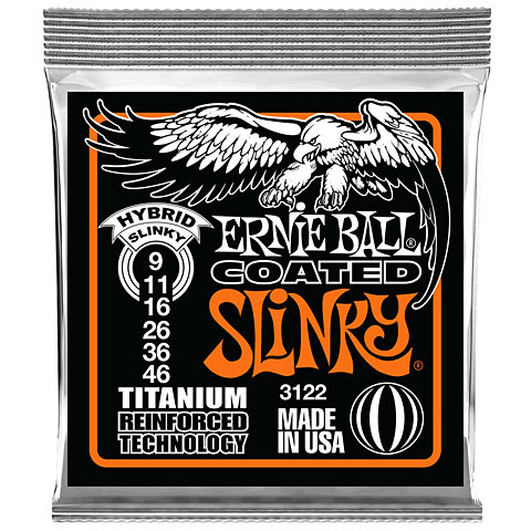 Ernie Ball Coated Slinky EB3122 009-046