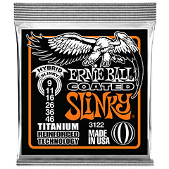 Ernie Ball Hybrid Slinky Coated 3122 .009-046 « Electric Guitar Strings