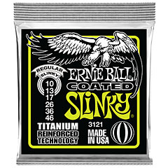 Ernie Ball Regular Slinky Coated 3121 .010-046 « Electric Guitar Strings