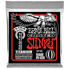 Ernie Ball Skinny Top Heavy Bottom Slinky Coated 3115 .010-052 « Electric Guitar Strings