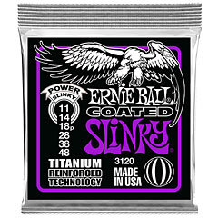 Ernie Ball Power Slinky Coated 3120 .011-048 « Cuerdas guitarra eléctr.