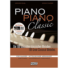 Hage Piano Piano Classic (Mittelschwer) « Music Notes
