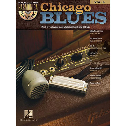 Hal Leonard Harmonica Play-Along Vol.9 - Chicago Blues