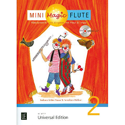 Libros didácticos Universal Edition Mini Magic Flute Band 2