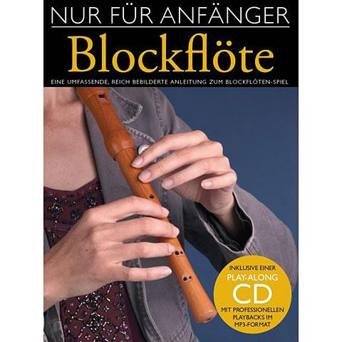 Libros didácticos Bosworth Nur für Anfänger Blockflöte