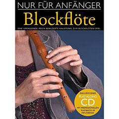 Bosworth Nur für Anfänger Blockflöte « Manuel pédagogique