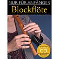 Εκαπιδευτικό βιβλίο Bosworth Nur für Anfänger Blockflöte