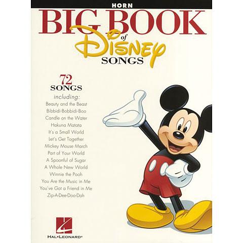 Hal Leonard Big Book Of Disney Songs