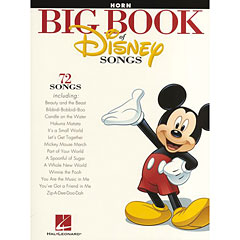 Hal Leonard Big Book Of Disney Songs « Notenbuch