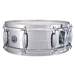 "Gretsch Drums USA Brooklyn 14"" x 5"" Chrome over Brass Snare « Caisse claire"