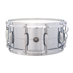 "Gretsch Drums USA Brooklyn 14"" x 6,5"" Chrome over Brass Snare « Caisse claire"