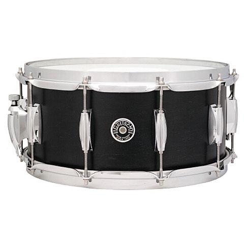 """Caja Gretsch Drums USA Brooklyn 14"""" x 5,5"""" Satin Dark Ebony Snare"""