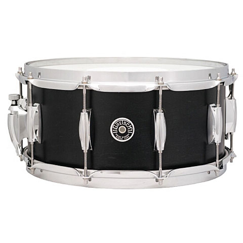 Gretsch USA Brooklyn 14  x 5,5  Satin Dark Ebony Snare