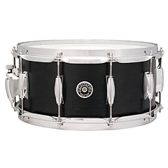 "Gretsch Drums USA Brooklyn 14"" x 5,5"" Satin Dark Ebony Snare « Caja"