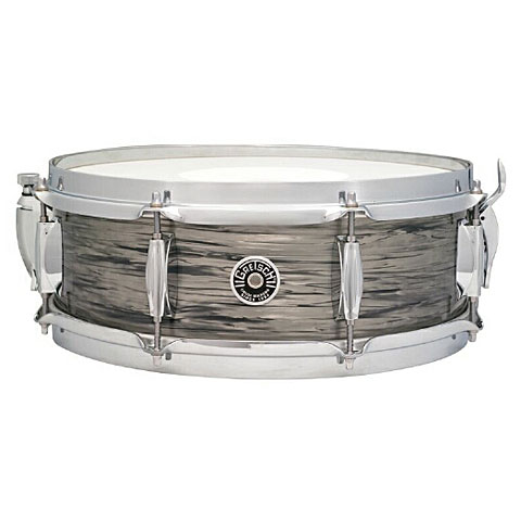 """Snare Drum Gretsch Drums USA Brooklyn 14"""" x 5,5"""" Grey Oyster Snare"""