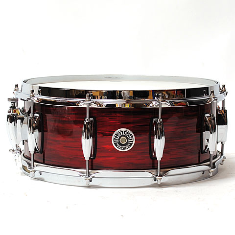 Gretsch USA Brooklyn 14  x 5,5  Red Oyster Snare