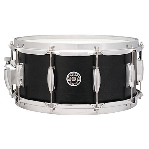 Gretsch Drums USA Brooklyn 14  x 6,5  Satin Dark Ebony Snare
