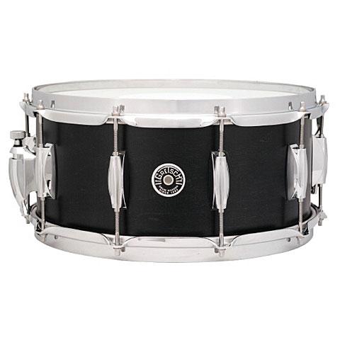 "Gretsch Drums USA Brooklyn 14"" x 6,5"" Satin Dark Ebony Snare"