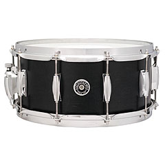 "Gretsch Drums USA Brooklyn 14"" x 6,5"" Satin Dark Ebony Snare « Caisse claire"