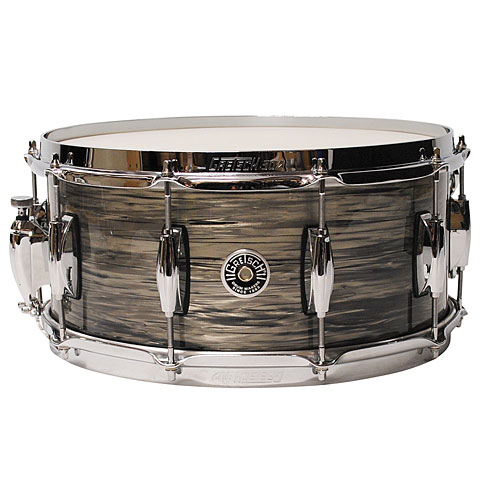 "Snare drum Gretsch Drums USA Brooklyn 14"" x 6,5"" Grey Oyster Snare"