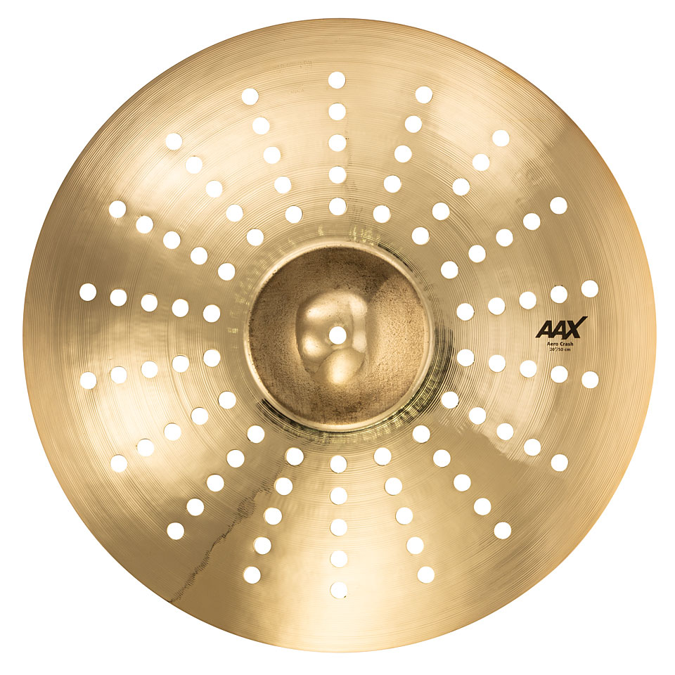 sabian aax 20 brilliant aero crash crash cymbal