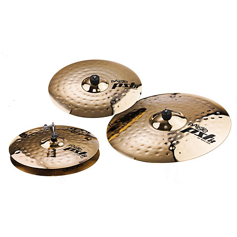 Sets de platos Paiste PST 8 Rock Set 14HH/16C/20R Cymbal Set