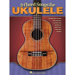 Hal Leonard 3 Chord Songs For Ukulele « Recueil de Partitions