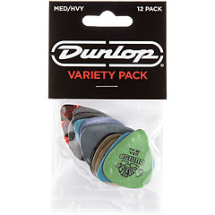 Dunlop Variety Medium/Heavy (12Stck) « Plektrum