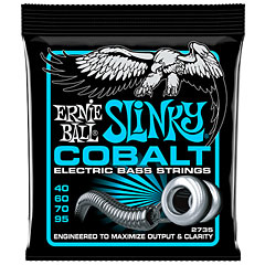 Ernie Ball Extra Slinky Cobalt 2735 .040-095 « Electric Bass Strings