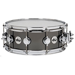 "DW Collector´s Black Nickel Over Brass 14"" x 5,5"" « Caisse claire"
