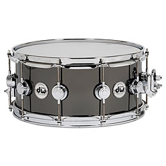 "DW Collector´s Black Nickel Over Brass 14"" x 6,5"" « Caisse claire"