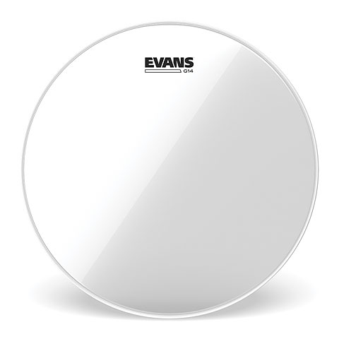 "Parches para Toms Evans Genera G14 Clear 12"" Tom Head"