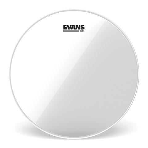 "Parches para Toms Evans Genera G14 Clear 13"" Tom Head"