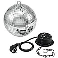 Discokugel Eurolite Mirror Ball Set 20 cm