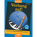 Recueil de Partitions Holzschuh Jede Menge Flötentöne Vorhang auf! Bd.2